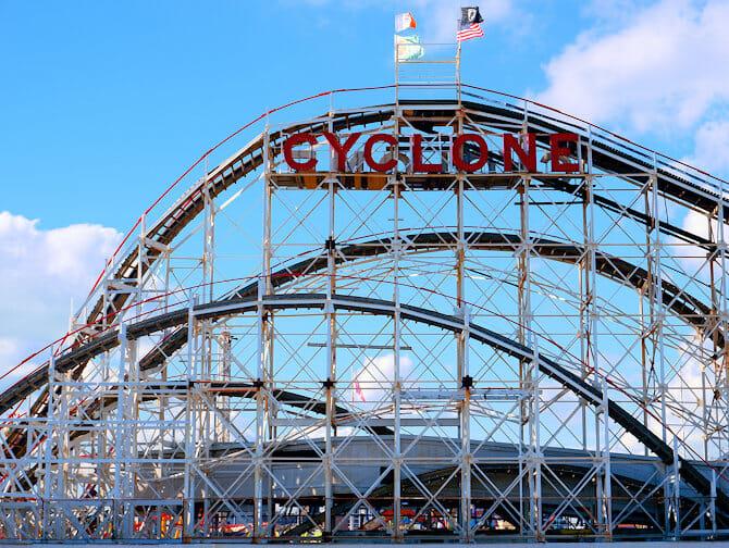 Coney Island New Yorkissa - Luna Park