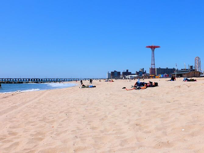 Coney Island New Yorkissa - Ranta
