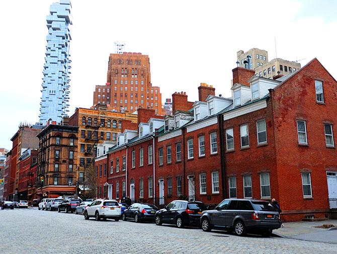 TriBeCa New Yorkissa - Harrison Street