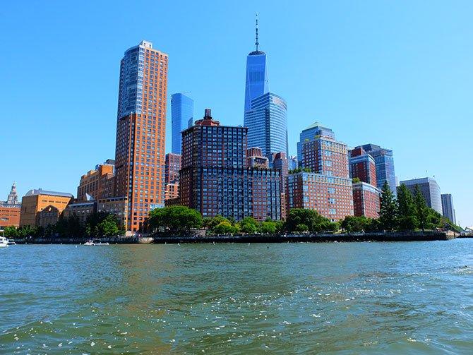 TriBeCa New Yorkissa - Rantapromenadi