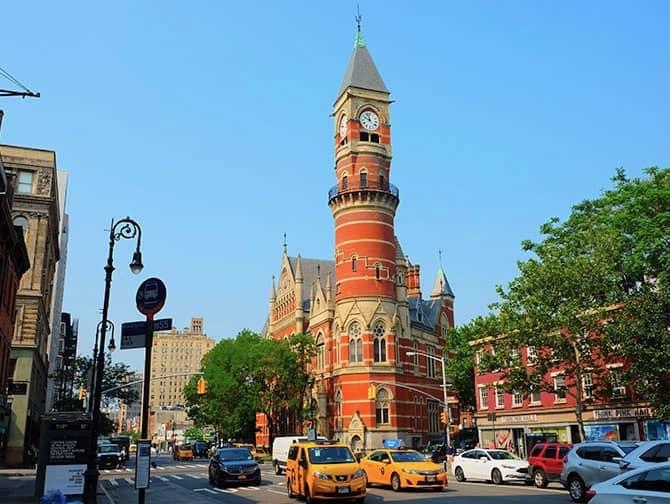 West Village New Yorkissa - Jefferson Market Courthouse