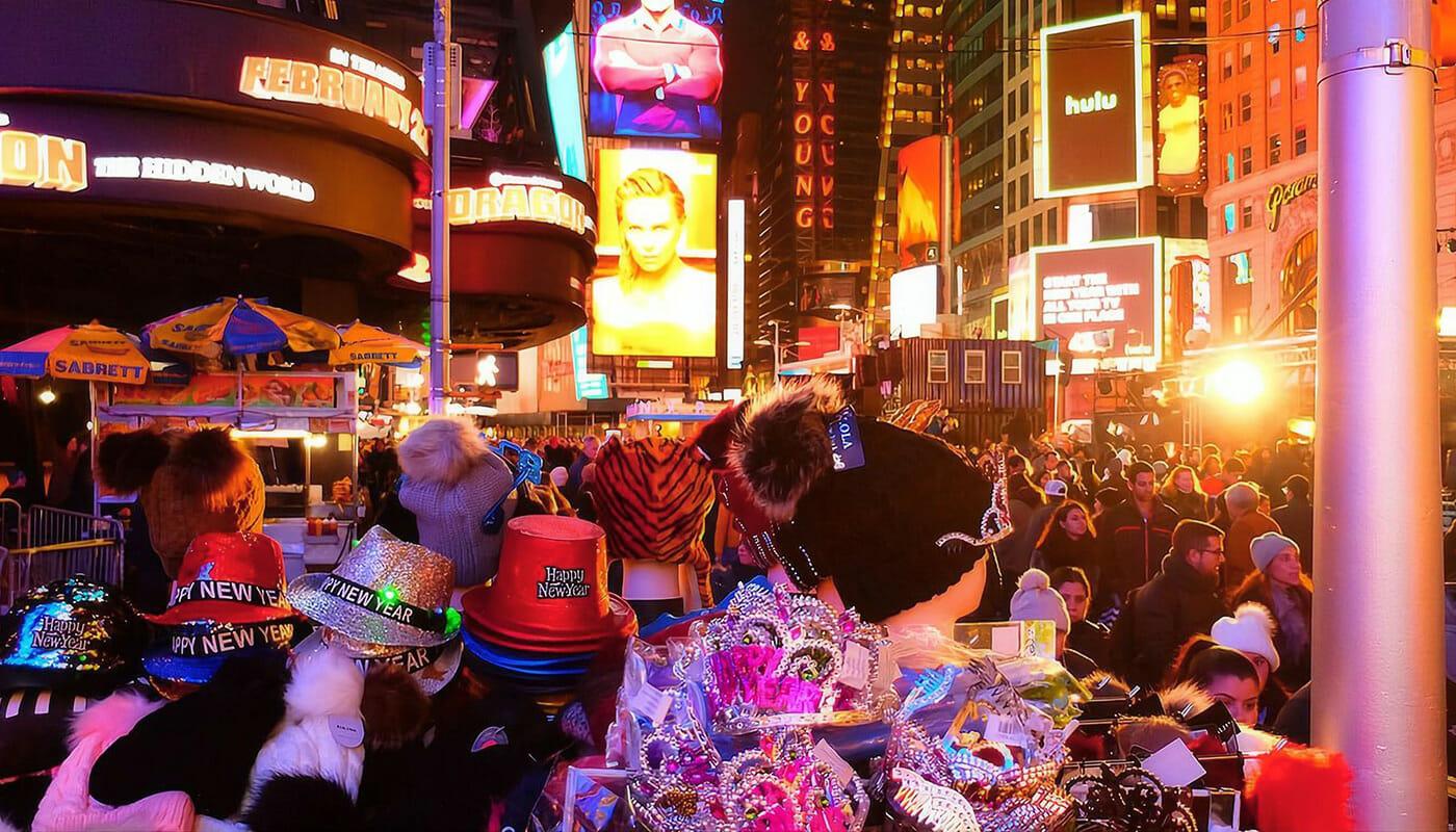 Uudenvuodenaatto New Yorkissa - Rekvisiittaa