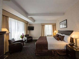 Edison Hotel New Yorkissa - huone