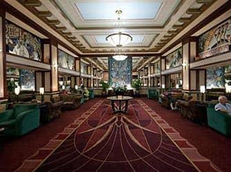 Edison Hotel New Yorkissa - aula