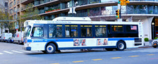 New Yorkin bussi