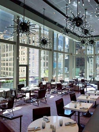 Novotel Times Square –hotelli -ravintola
