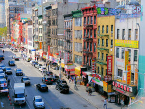 Chinatown New Yorkissa