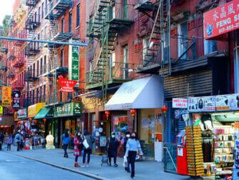 Chinatown New Yorkissa - kauppoja