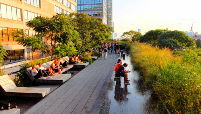 Meatpacking District NYC - High Line Park