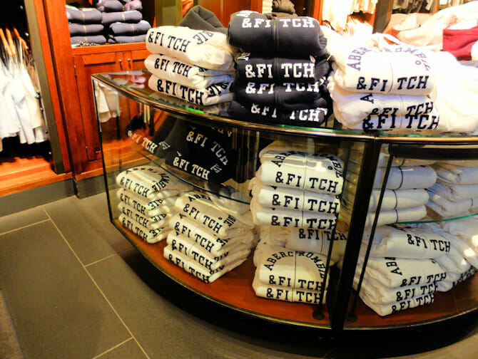 Abercrombie and Fitch -liike New York Cityssa
