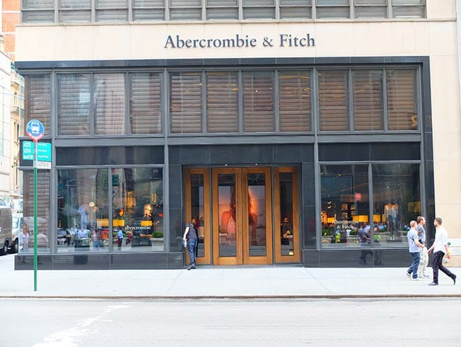 Abercrombie and Fitch  liike New Yorkissa