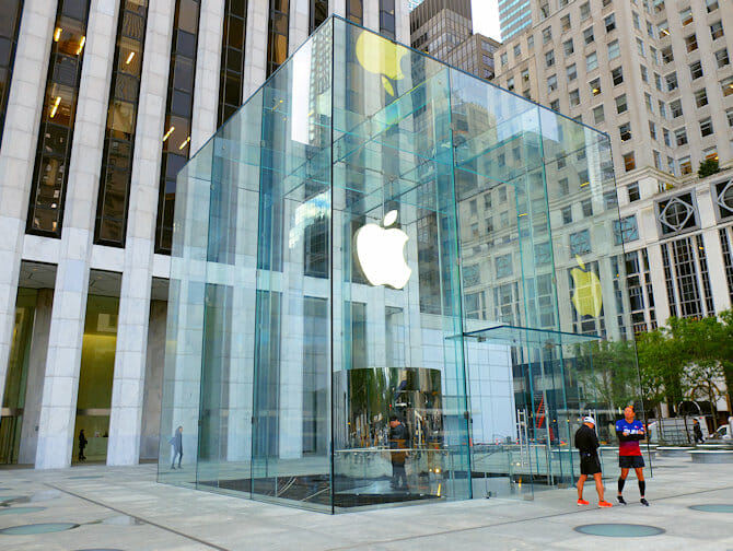 Apple Store New Yorkissa
