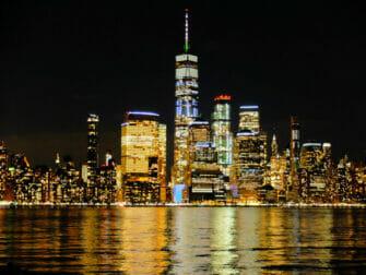 Bateaux New York illallisristeily - skyline