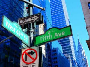 Miten löytää perille New Yorkissa