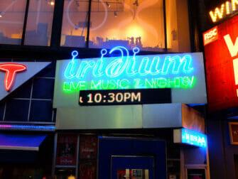 Jazzia New Yorkissa - Iridium