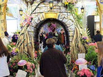 Macy's New Yorkissa - Flower Show'n kukkakoristelut