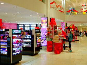 Macy's-tavaratalo New York - sisustus