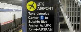 Kulkuyhteydet Manhattanilta JFK-lentokentälle