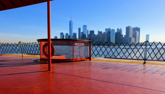 Staten Island Ferry - siluetti