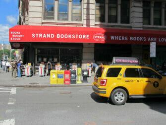 The Strand -kirjakauppa New Yorkissa