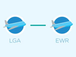 Lentokentän vaihto New Yorkissa: LaGuardia ja Newark