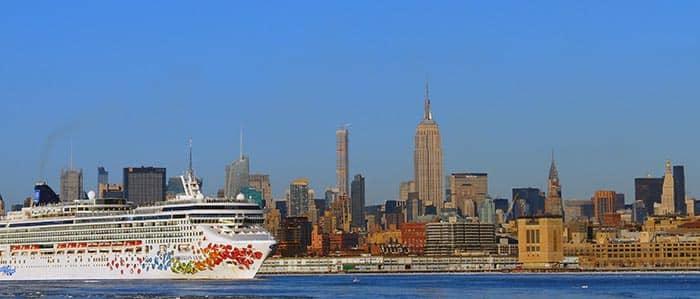 Kuljetus New Yorkissa satama ja Manhattan