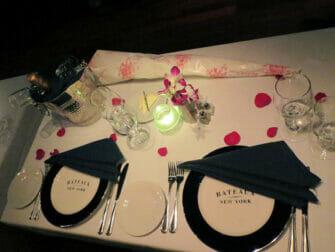 Ystävänpäivän risteily New Yorkissa - illallinen