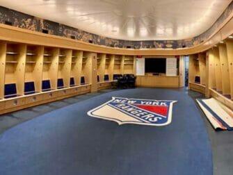 Madison Square Garden New Yorkissa - All Access Tour Rangers