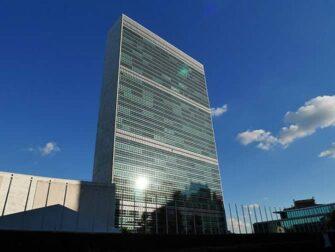 YK:n päämaja New Yorkissa - Päämaja