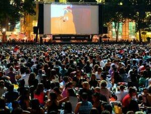 Ilmaisia elokuvia Bryant Parkissa