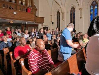 Opastettu gospelkierros New Yorkissa - Kirkossa Harlemissa