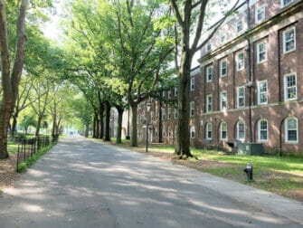 Governors Island New Yorkissa - taloja