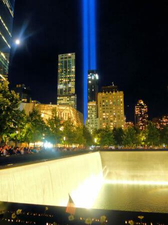 Ground Zeron valaistus New Yorkissa