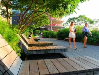High Line Park New Yorkissa - Lounge-tuolit