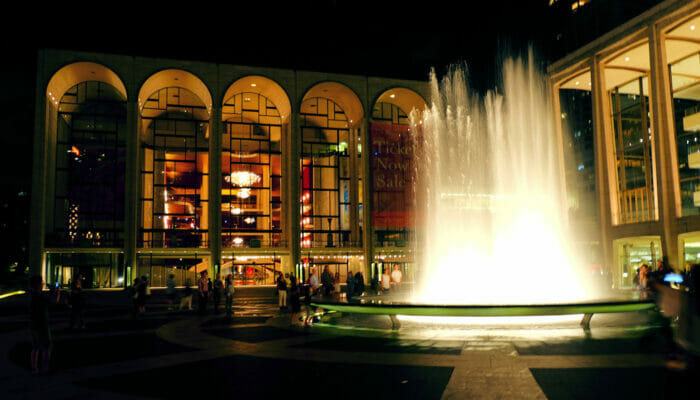 Lincoln Center New Yorkissa - Lincoln Center yolla
