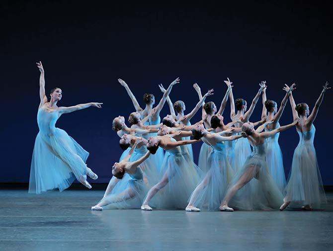 New York City Ballet -liput - Serenade