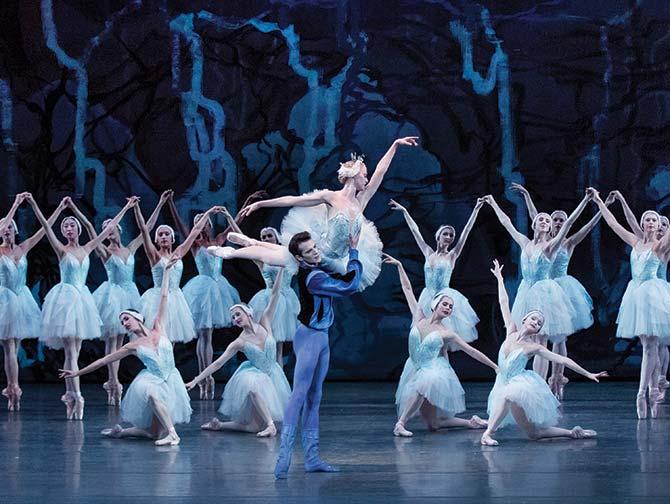 New York City Ballet -liput - Joutsenlampi