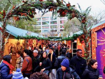 Torit New Yorkissa - Union Squaren joulumarkkinat