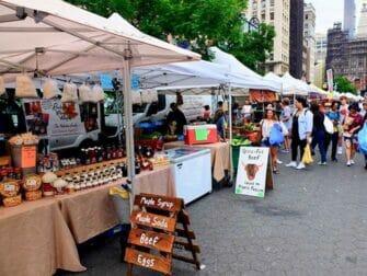 Torit New Yorkissa - Union Square Greenmarket