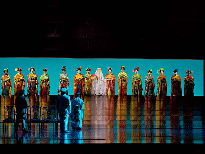 Oopperaliput New Yorkissa - Madama Butterfly