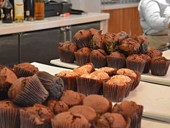 Yotel Hotel New Yorkissa - muffinseja