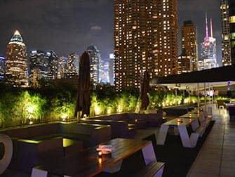 Yotel Hotel New Yorkissa - kattoterassi
