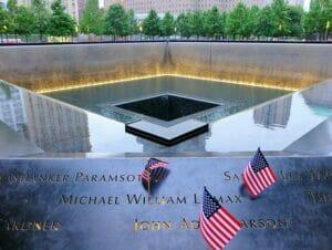 9/11 Memorial Ground Zerolla New Yorkissa