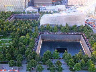 9/11 Memorial Ground Zerolla New Yorkissa - ylhaalta