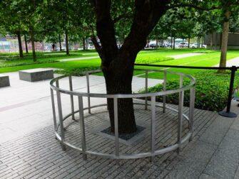 9/11 Memorial Ground Zerolla New Yorkissa - selviytyjien puu