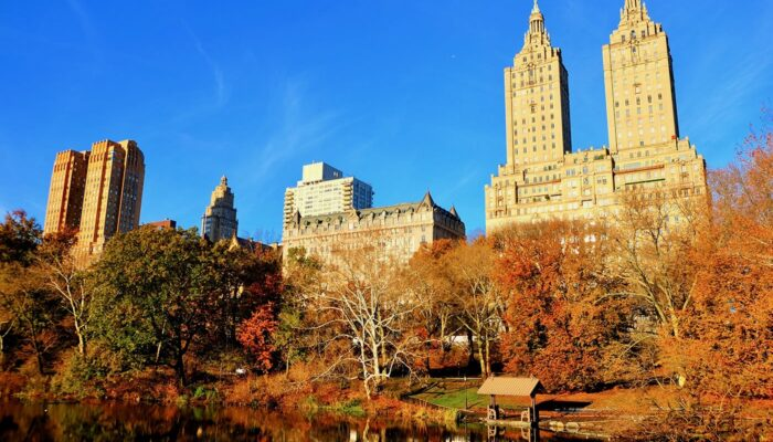 Central Park New Yorkissa - Syksy