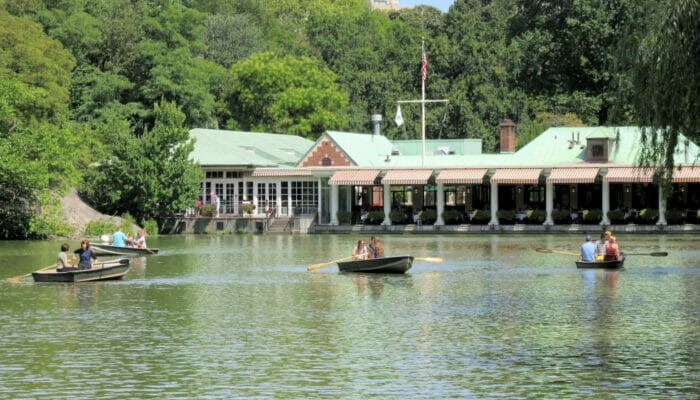 Central Park - Loeb Boathouse