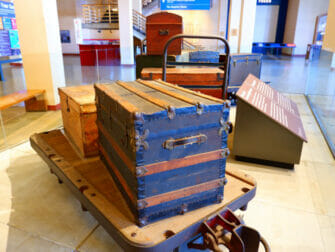 Ellis Island New Yorkissa - museo