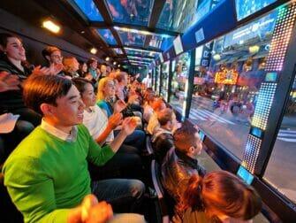 The Ride New Yorkissa - The Riden kyydissä
