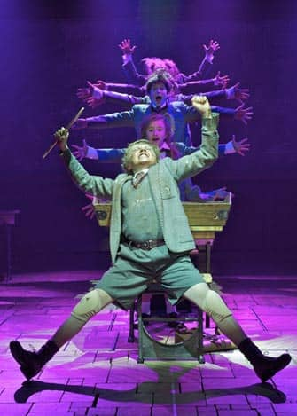 Matilda-musikaali New Yorkin Broadwaylla